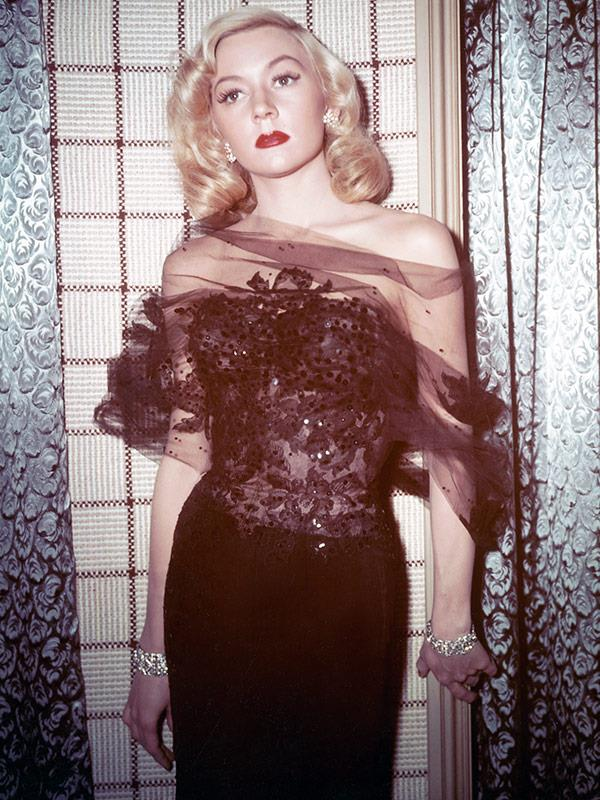 She portrays real-life Hollywood legend Gloria Grahame.