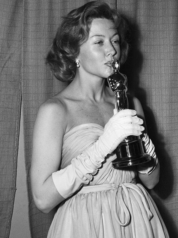 The proud Oscar winner!
