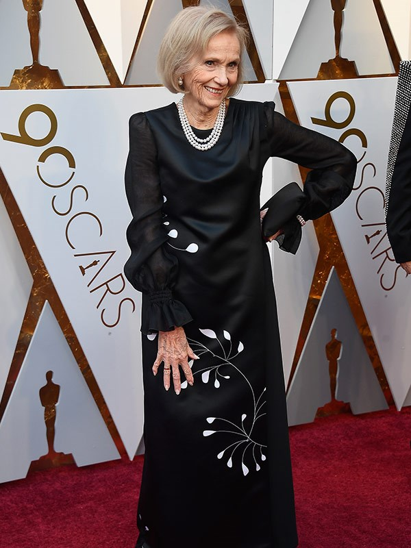 Actress and producer Eva Marie Saint will be presenting an award tonight.