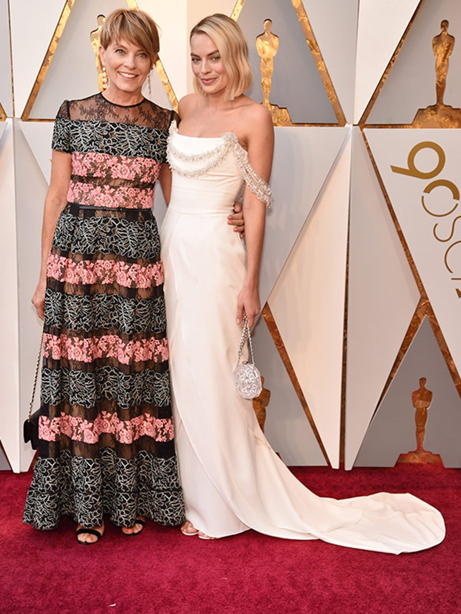 Margot has credited her mum for being one of her biggest role models.