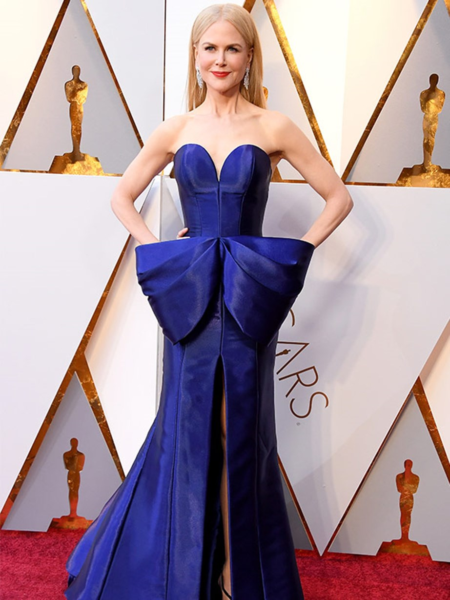 Total knockout. There are no words for Nicole Kidman in Armani Prive.