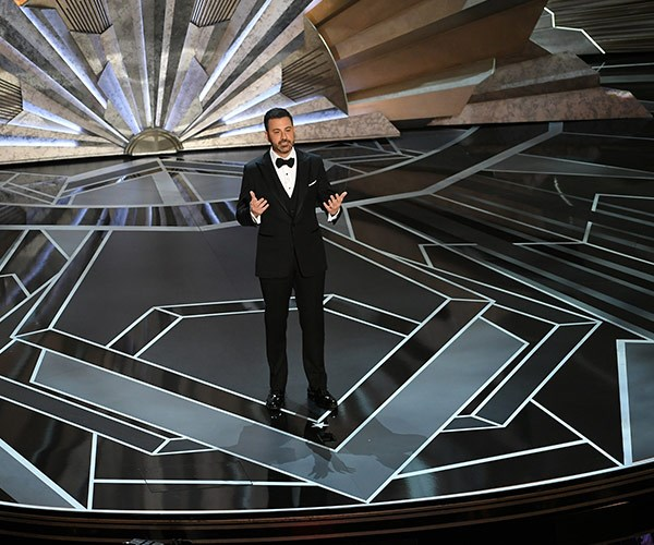 """""""The world is watching us. We need to set an example. And the truth is, if we are successful here, if we can work together to stop sexual harassment in the workplace, if we can do that, women will only have to deal with harassment all the time in every other place they go,"""" Jimmy said in his opening monologue."""