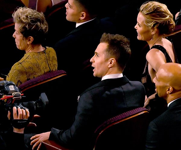 And the winner is the very talented Sam Rockwell, who stunned the audience in *Three Billboards Outside Ebbing, Missouri*.
