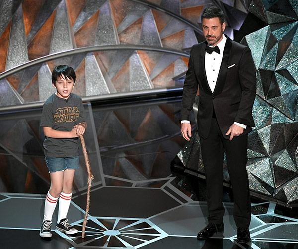 Jimmy Kimmel decides to take a step back in time, bringing back his younger self.