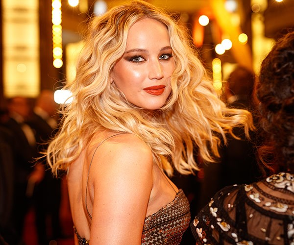 JLaw might be the life of the party but she still know how to have a movie star moment.