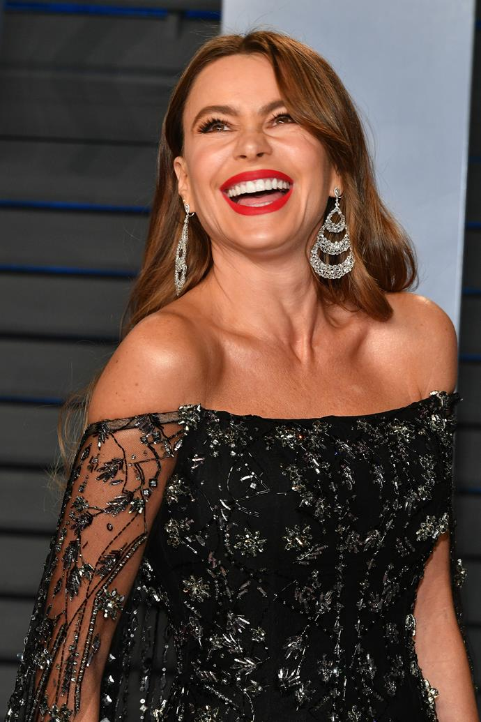 We wish we were having as much fun as Sofia Vergara!