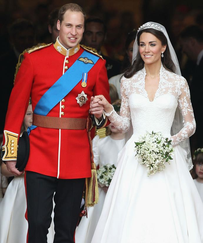 A modern day fairytale! Kate and William married on April 29, 2011.