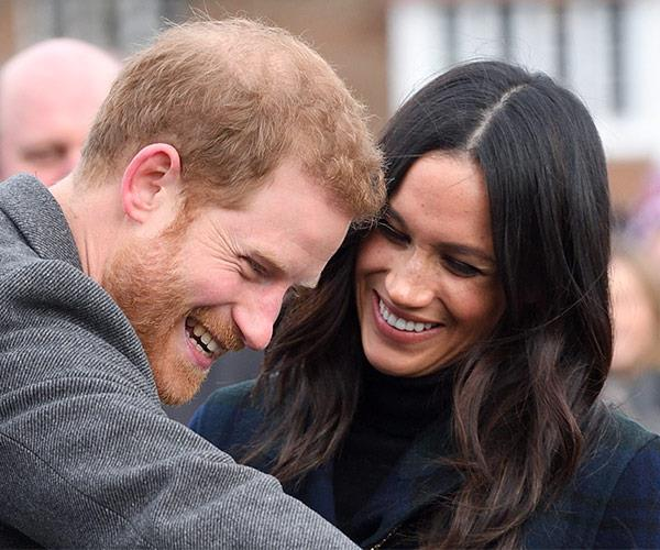 Prince Harry and Meghan Markle have babies on the brain!