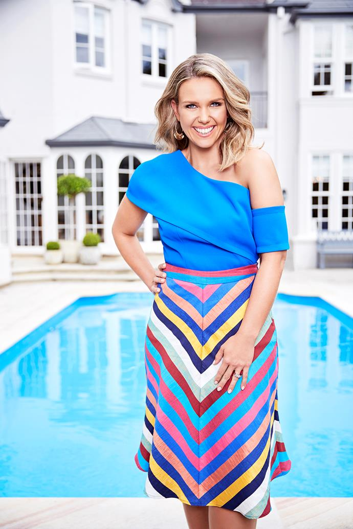 Edwina's glow comes from within - and she has the health tips to prove it.