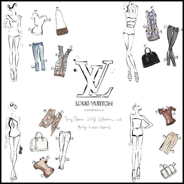 Kerrie's Louis Vuitton campaign.