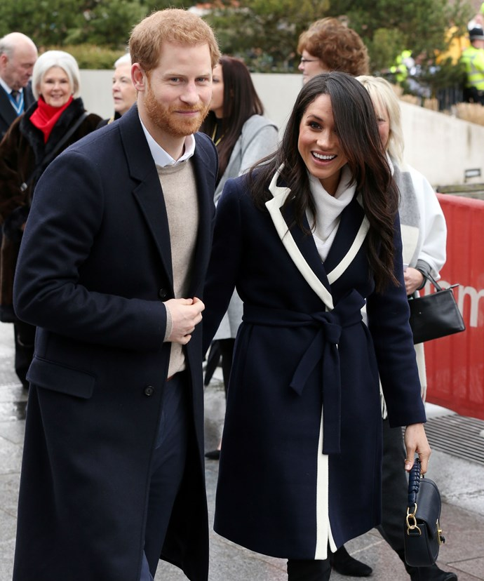 Harry and Meghan's outing followed the duchess-to-be's top secret baptism into the Church of England.