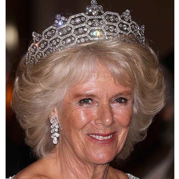 The Duchess of Cornwall wore the Greville tiara in 2013.