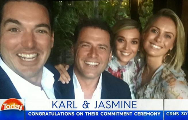 """""""It was lovely,"""" Karl revealed."""
