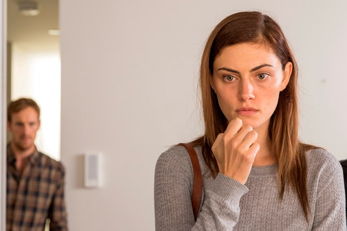 Phoebe Tonkin plays Olivia in SBS miniseries *Safe Harbour*.