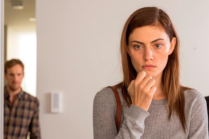 Phoebe Tonkin plays Olivia in SBS miniseries *Safe Harbour*.