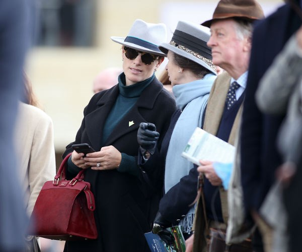 Zara attended the popular event alongside hubby Mike Tindall and mum Princess Anne.