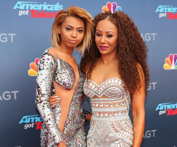 Mel B and her 19-year-old daughter Phoenix attended the red carpet kickoff of the new season of America's Got Talent.