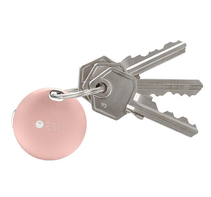 "Prone to losing your keys? This device is a lifesaver. Attach the keyring and you'll be able to locate your keys wherever they are — bottom of the handbag included — thanks to its clever tracking app and alarm. <br><br>[Orbit Key Ring](https://www.theiconic.com.au/orbit-keyfinder-476824.html|target=""_blank""