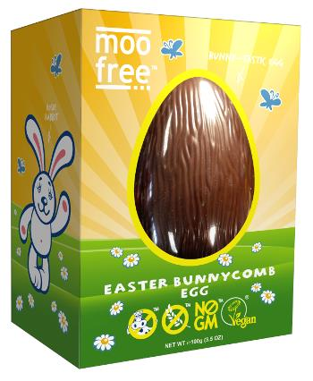 Yep, a *VEGAN* honeycomb toffee Easter egg. This is is popular with kids and adult alike, it's so smooth you'll have to pinch yourself to check and see if you're dreaming. Just $15.95 and organic, dairy-free, gluten-free, GM-free, wheat-free, casein-free, lactose-free.