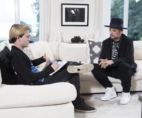 Tyler has done readings for Hollywood's biggest stars, including Boy George.