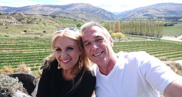 John and Melissa spent a lot of time visiting wineries on their dates.