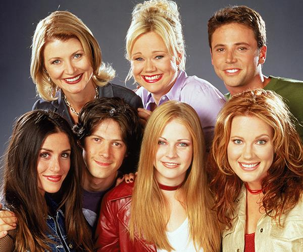 The original cast of '90s hit *Sabrina The Teenage Witch*.