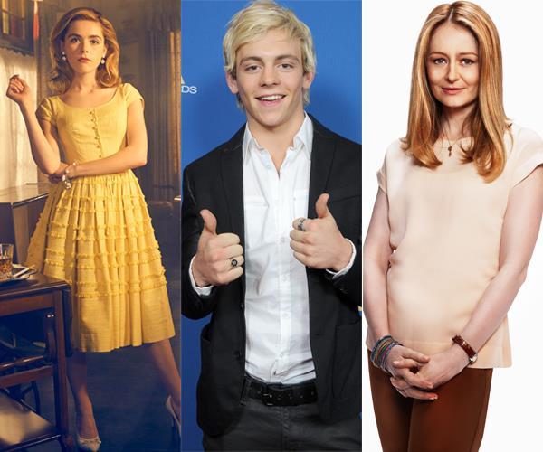 Kiernan Shipka, Ross Lynch and Miranda Otto will play main characters Sabrina, Harvey and Aunt Zelda respectively.