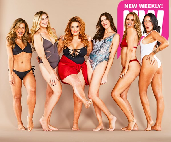 The girls reunited for NW's super sexy bikini shoot