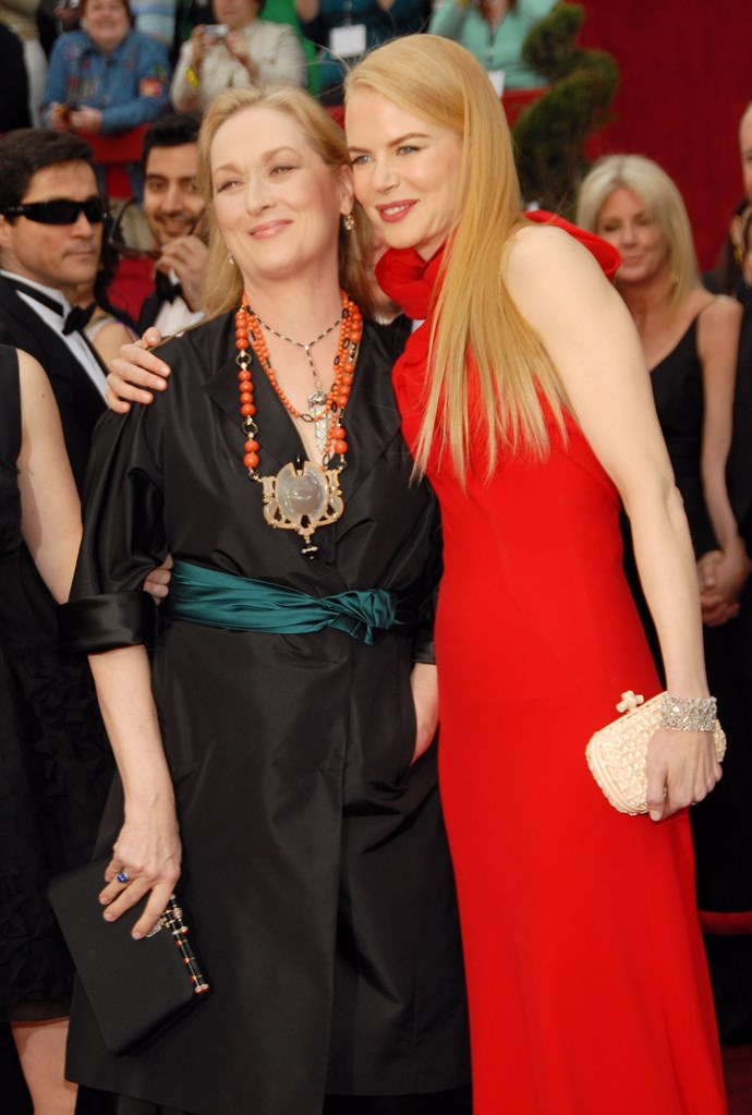 Nicole and Meryl's friendship first flourished back in 2002.