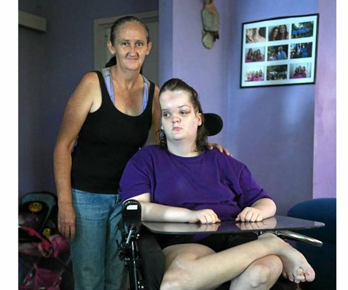 Tori's worried mum, Wendy Punch, is desperately seeking help for her daughter.