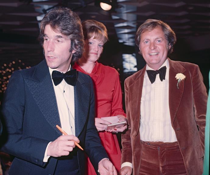 **Henry Winkler** Yep that's the Fonze! *Happy Days* actor Henry Winkler attended the TV WEEK Logies in 1976.