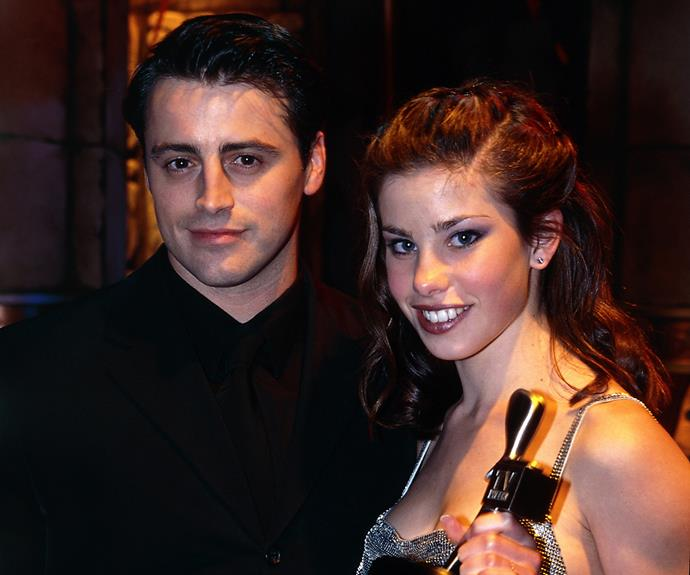 **Matt LeBlanc**  Everyone wanted to be Friends with Matt LeBlanc.  The TV actor visited in 1998 and posed for a photo with Logie winner Brooke Satchwell.