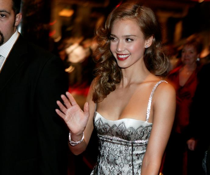 **Jessica Alba**  In 2007, actress Jessica Alba looked stunning on the red carpet. Also attending that year was actor Ioan Gruffud.