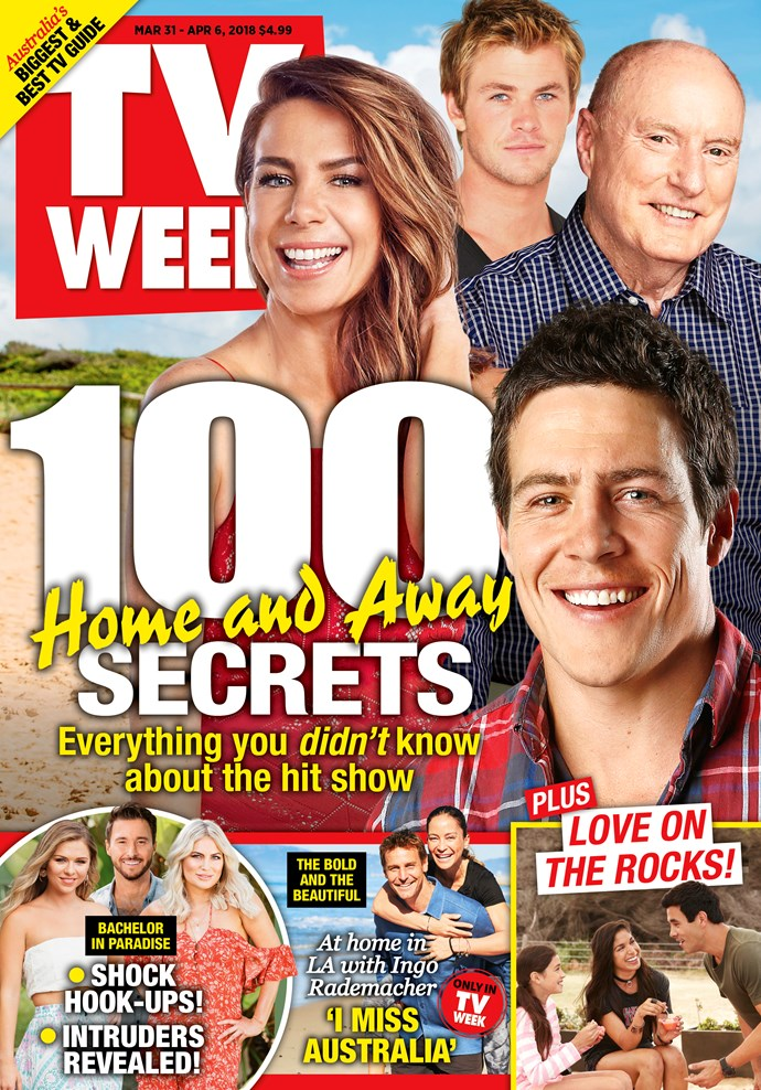 **Love this? We have plenty more where that cam from. For 90 more set secrets and fabulous facts, pick up this week's issue of TV WEEK - on sale now!**