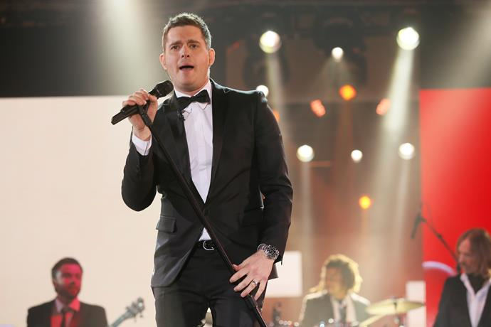 "*Michael Bublé*  The Canadian crooner has won over the Logies audience not once, but twice. He melted viewers' hearts with his first performance in 2004, singing  ""Moondance"" and pulling our own Delta Goodrem from the crowd. Then, taking to the stage again in 2013 with ""It's A Beautiful Day"", Michael made his way into the audience to serenade countless stunned guests."