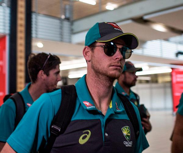 Ex-Australian cricket captain Steve Smith has been sent home from the test, along with David Warner and Cameron Bancroft.