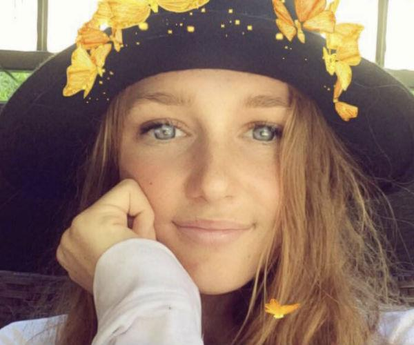 Jade, 17, died after when the car she was driving in came off the road, flipped and slammed into a tree. (Image via Facebook).