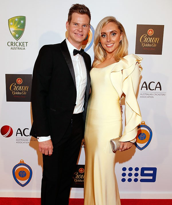 "Disgraced skipper Steve Smith is ""struggling"" without his fiancee Dani by his side."