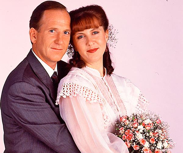 Debra Lawrance and Dennis Coard, who played married couple Pippa and Michael Ross, are also married in real life.