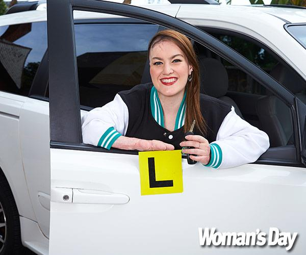 """""""My reverse parking can still do with some polish,"""" she tells us."""