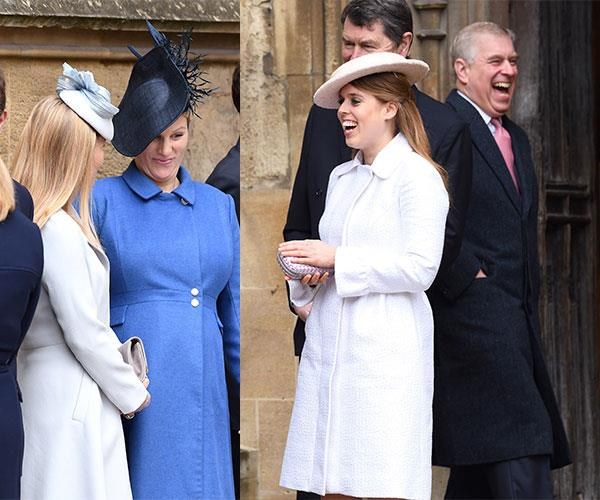 Zara gives everyone the giggles.
