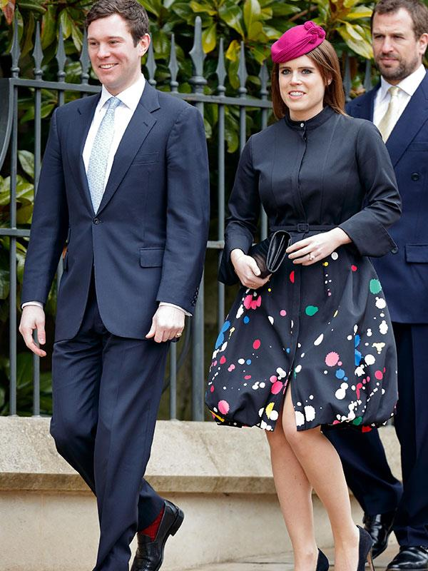 Soon we'll see Princess Eugenie walking up the aisle at the Windsor church.