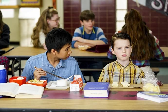 Sheldon's first friend is Tam Nguyen.
