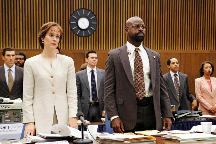 Sterling starred alongside Sarah Paulson in *American Crime Story: The People V OJ Simpson*.