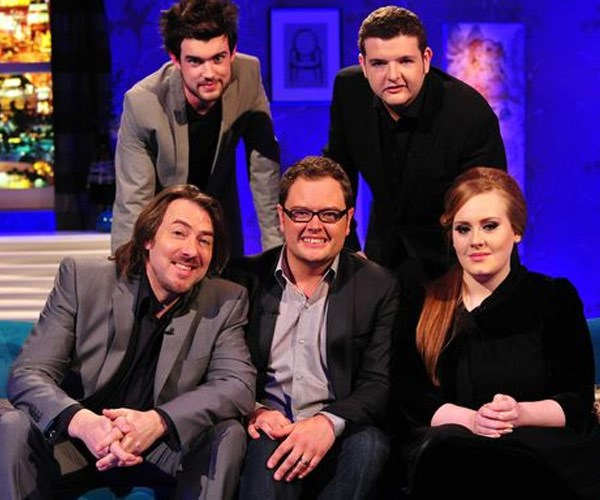 While she infamously steers away from interviews, Adele has starred on *Chatty Man*.