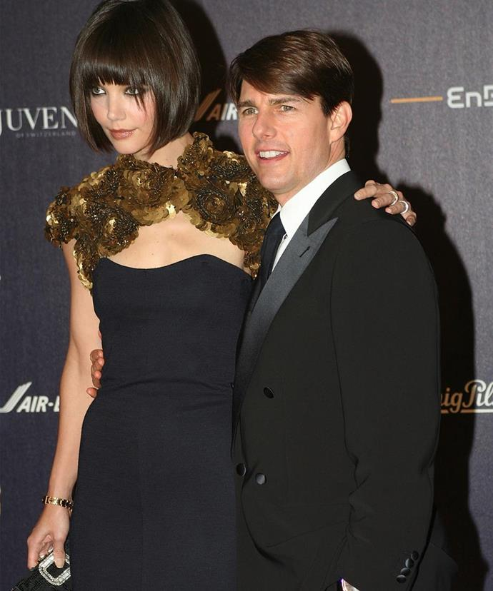 Jonathan helped Katie divorce Tom Cruise.