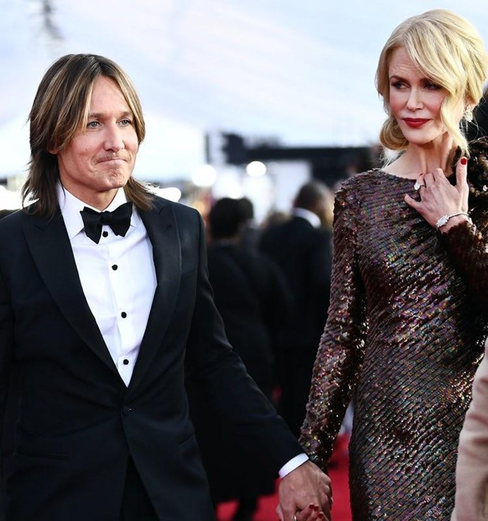 They love a red carpet appearance together but Nic and Keith's last public outing was at the SAG Awards back in January.