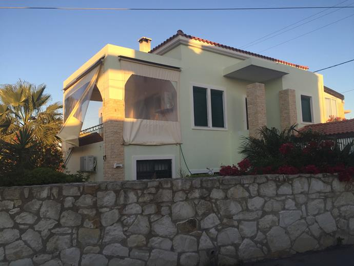 Our new home in Greece.