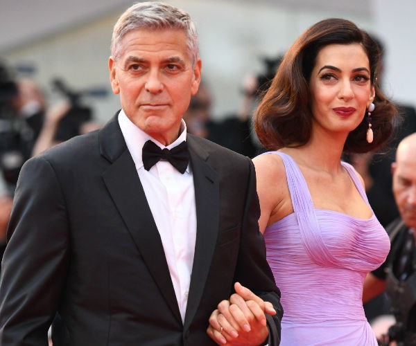 George and Amal tied the knot in lavish fashion in 2014.
