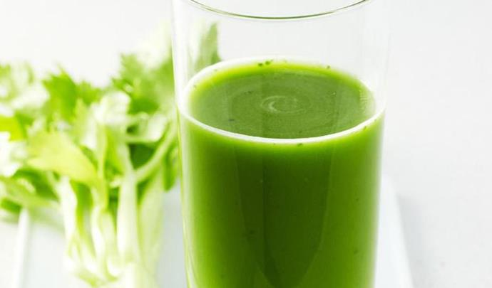 "Celery has many nutrients and minerals that are perfect for aiding digestion and restoring your stomach's natural acids. [**Learn how to make celery, spinach and grape juice**](http://www.foodtolove.com.au/recipes/celery-spinach-and-grape-juice-22046|target=""_blank"")."
